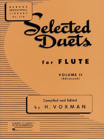 Selected Duets for Flute Volume 1 - Easy to Medium