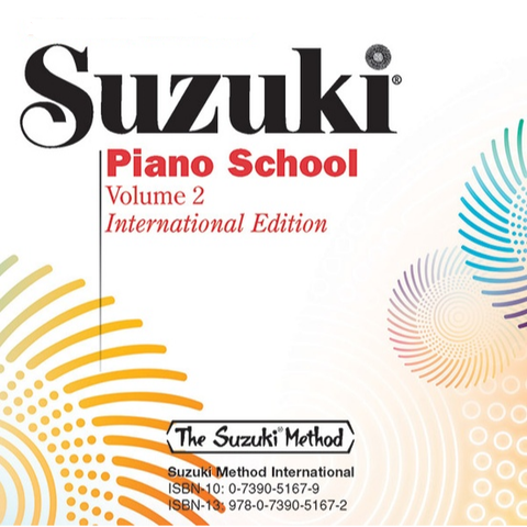 Suzuki Piano School, Volume 2 - CD Performed by Haruko Kataoka