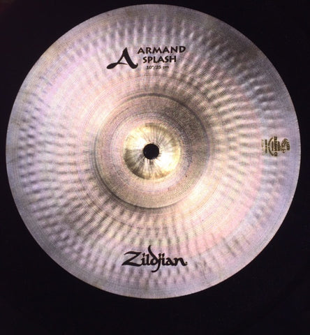"Zildjian 10"" Armand Series Splash Cymbal"