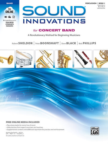 Sound Innovations for Concert Band - Percussion, Book 1