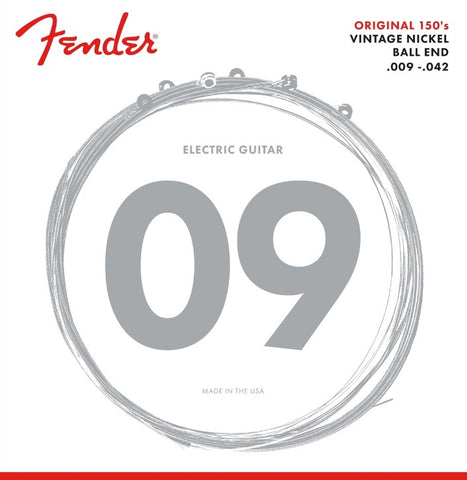 Fender Original 150 Pure Nickel Electric Guitar Strings