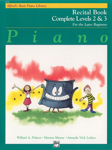 Alfred's Basic Piano Library for the Later Beginner - Recital Books