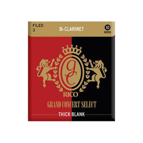 Rico Grand Concert Select Thick Blank Bb Clarinet