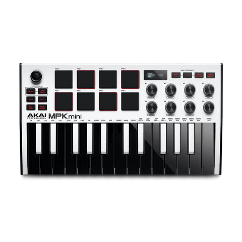 Akai MPK Mini MKIII Special Edition White