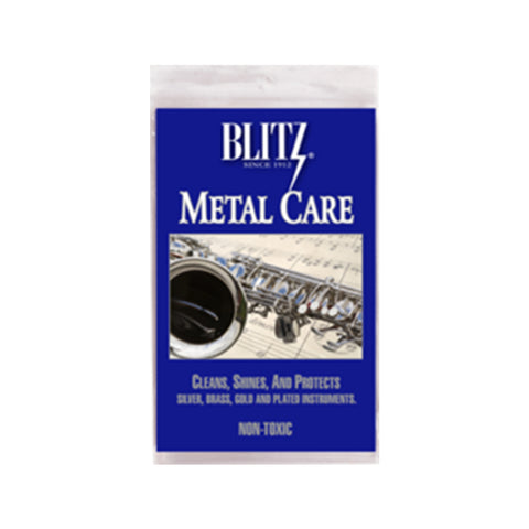 Blitz Music Instrument Silver Polish Cloth