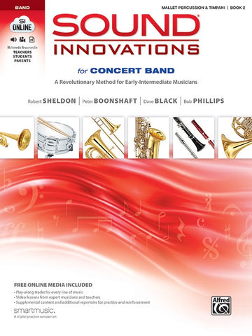 Sound Innovations for Concert Band - Mallet Percussion & Timpani, Book 2