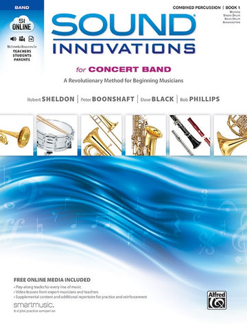 Sound Innovations for Concert Band - Combined Percussion, Book 1