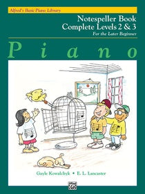 Alfred's Basic Piano Library for the Later Beginner - Notespeller Books