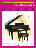 Alfred's Basic Piano Library - Basic Course Technic Books