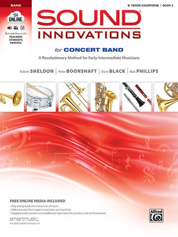 Sound Innovations for Concert Band - Bb Tenor Saxophone, Book 2