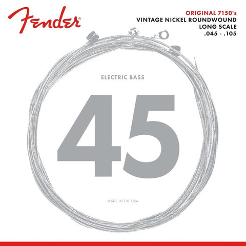 Fender 7150 Pure Nickel Electric Bass Strings