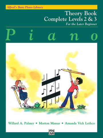 Alfred's Basic Piano Library for the Later Beginner - Theory Books