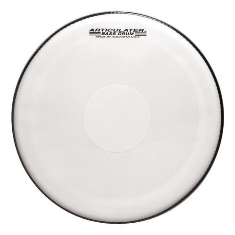 Aquarian Articulator Marching Bass Drum Heads