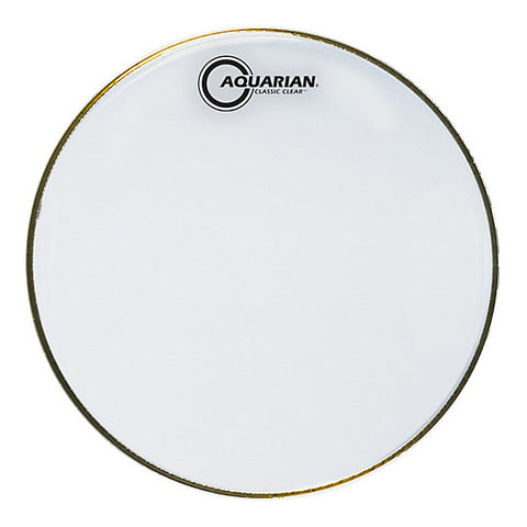 Aquarian Classic Clear 1 Ply Drum Heads