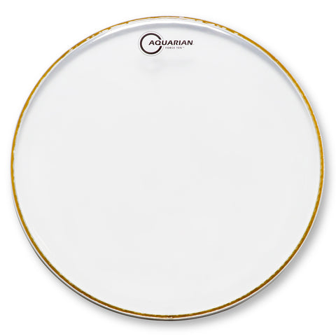 Aquarian Force Ten Clear 2-Ply Tom Drum Heads