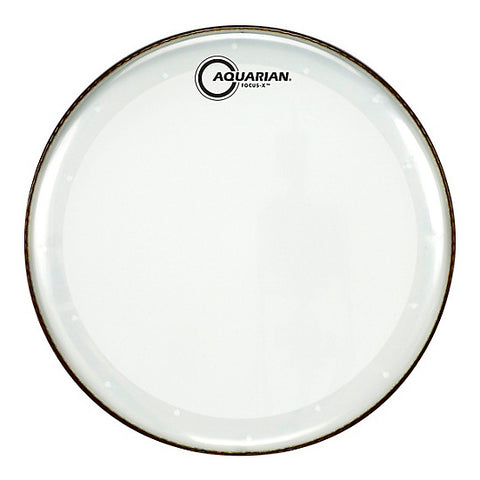 Aquarian Focus X Clear 1 Ply Tom Drum Heads
