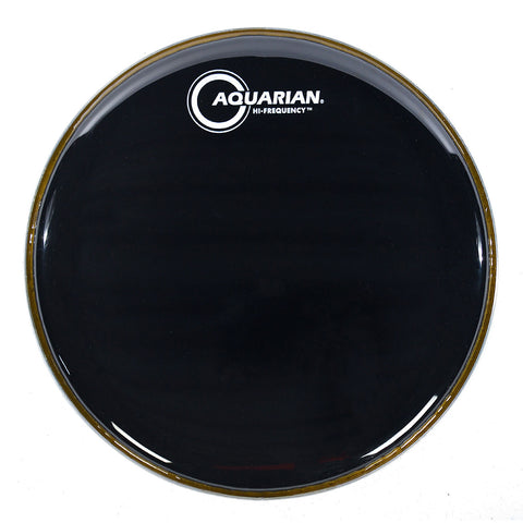 Aquarian Hi Frequency Black 1 Ply Drum Heads