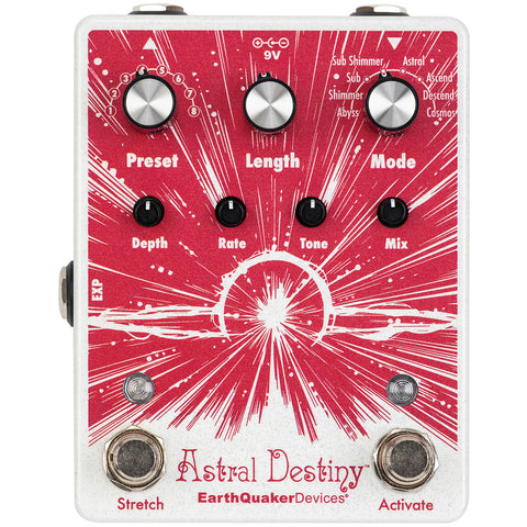 Earthquaker Devices Astral Destiny Modulated Octave Reverb