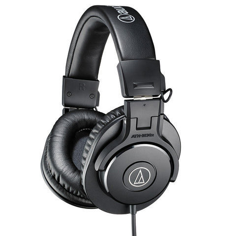 Audio Technica ATH-M30X Closed Back Monitor Headphones