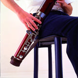 BG Leather Bassoon Seat Strap with Adjustable Cup