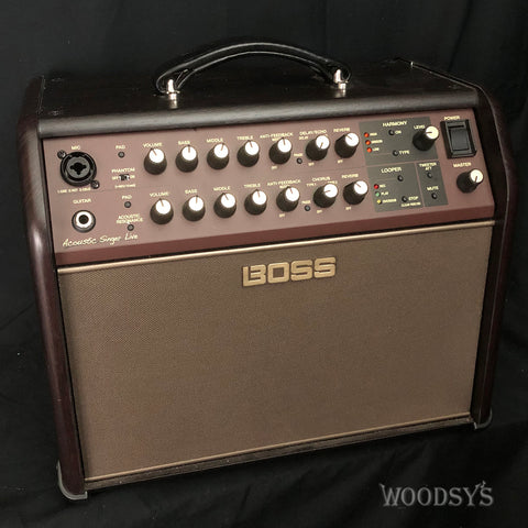 Boss ACS Live Acoustic Guitar and Vocal Amp - Demo
