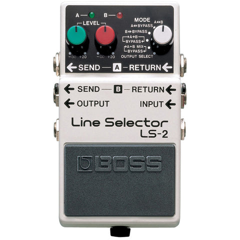 Boss LS-2 Line Selector Guitar AB Switcher Pedal