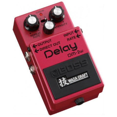 Boss DM2W Analog Delay Pedal Waza Craft