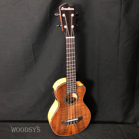 Breedlove Lu'Au Concert Natural Shadow