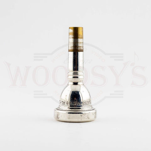 Used Blessing 6.5AL Large Shank Trombone Mouthpiece