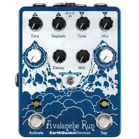 Earthquaker Devices Avalanche Run Reverb & Delay