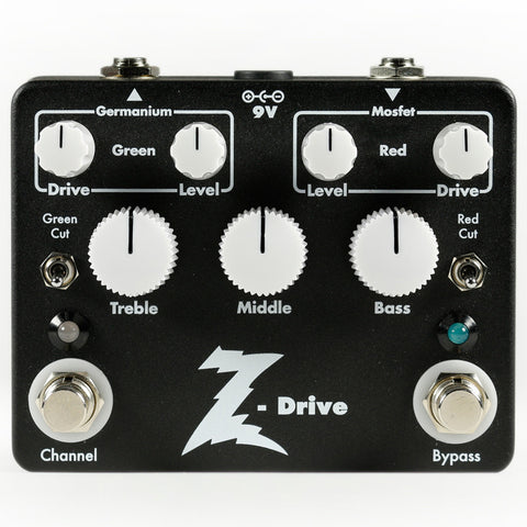 Dr. Z Z-Drive Germanium/Mosfet Overdrive Earthquaker Devices
