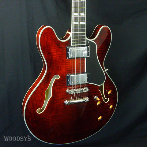 Eastman T486SB Thinline Semi-Hollow Electric Guitar