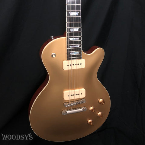 Eastman SB56 NGD Solid Body P90 Gold Top