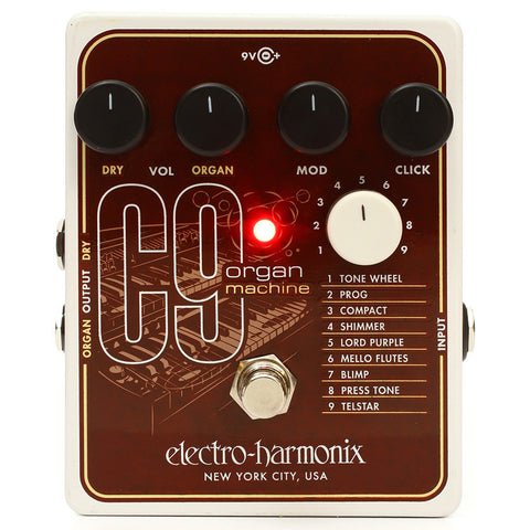 Electro Harmonix C9 Organ Machine Synthesizer