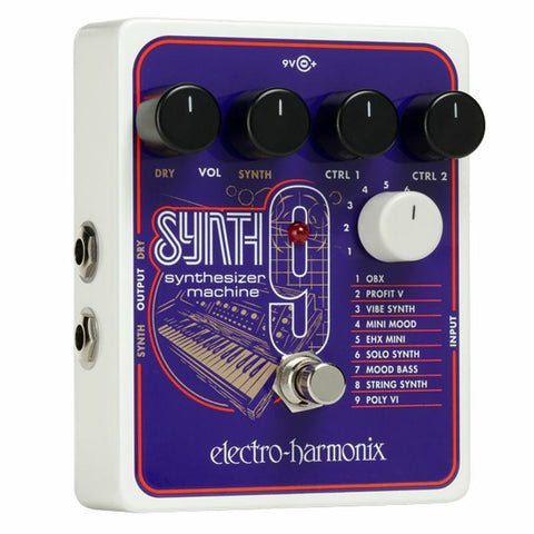 Electro Harmonix Synth 9 Guitar Synthesizer Pedal