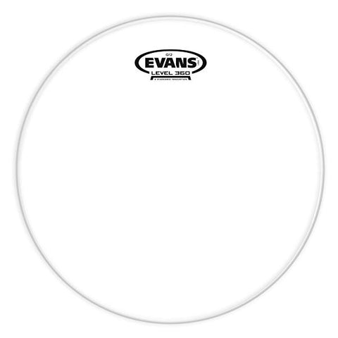 Evans G12 Clear 1 Ply Drum Heads