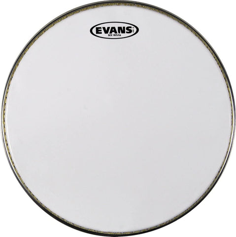 "Evans SB14MXW 14"" White Marching Snare Batter"