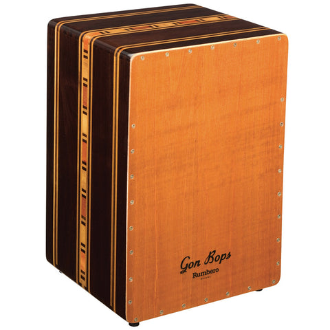 Gon Bops Rumbero Cajon with case