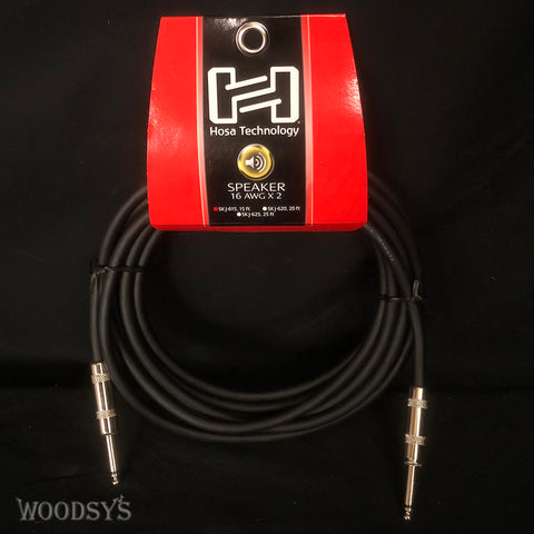 "Hosa SKJ 1/4"" to 1/4"" Speaker Cables"