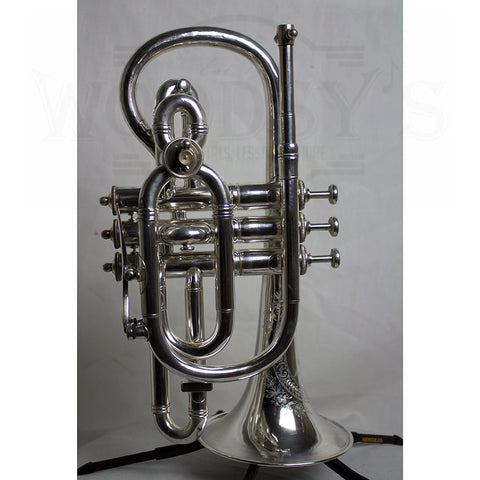 Vintage 3 Star NE Plus Ultra Boston Cornet