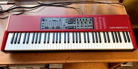 Used Nord Electro 3 HP 73 Key Portable Keyboard
