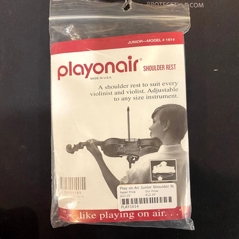 New Old Stock Playonair Junior Model 3/4 Violin Shoulder Rest
