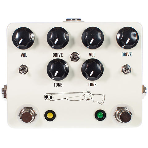 JHS Double Barrel Dual Overdrive Pedal V3