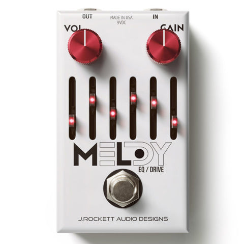 J Rockett Melody Overdrive EQ