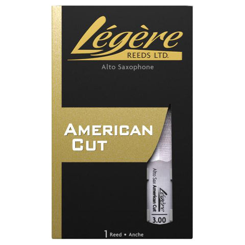 Legere American Cut Synthetic Alto Saxophone Reed