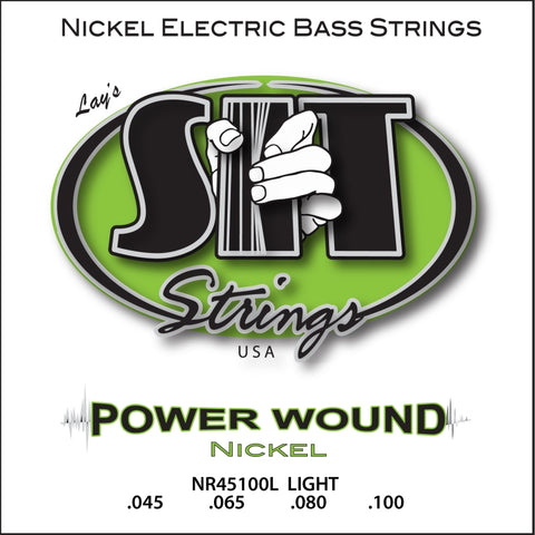 SIT Power Wound Nickel Electric Bass Strings