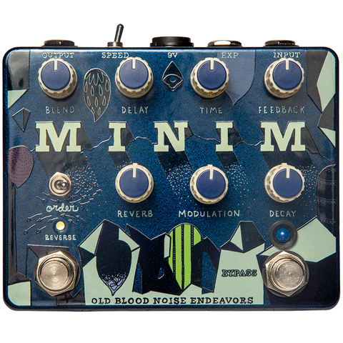 Old Blood Noise Endeavors Minim Reverb Delay