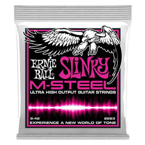 Ernie Ball Super Slinky M-Steel Electric Guitar Strings