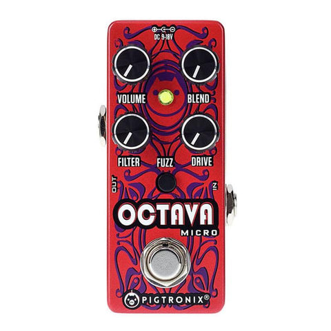 Pigtronix Octava Analog Octave Up Fuzz Pedal