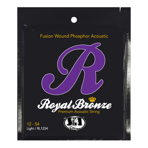 SIT Royal Bronze Light (12-54) Acoustic Guitar Strings